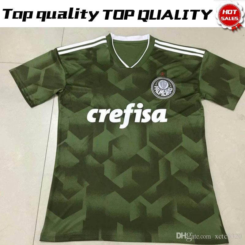 f6ed7bb653 Compre 2019 Palmeiras Terceira Camisa De Futebol 18 19 Palmeiras 3ª Camisa  De Futebol 2018 19 Uniforme De Futebol De Vendas De Xctc5320