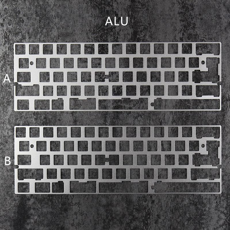alu plate dz60 plate for diy mechanical keyboard stainless steel
