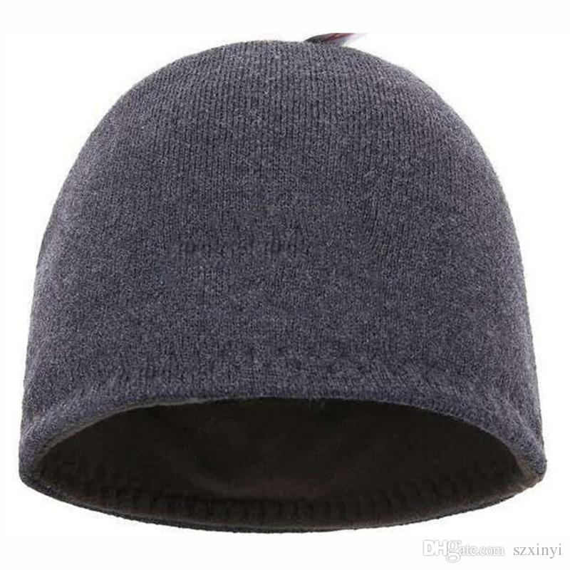 d0197f99975 Newest Fashion Beanies Brand Men Autumn Winter Hats Sport Knit Hat ...
