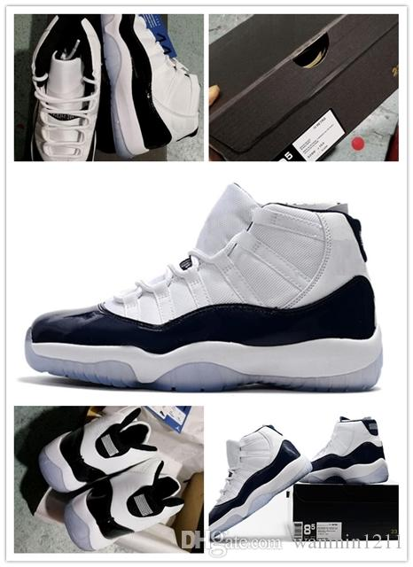 7a9b7e1e4e1a21 New 11s Sneakers Like 96 Wholesale Space 11 11s Midnight Navy Blue White  Black Gym Red Basketball Shoes Loafers For Men Mens Loafers From  Wanmin1211