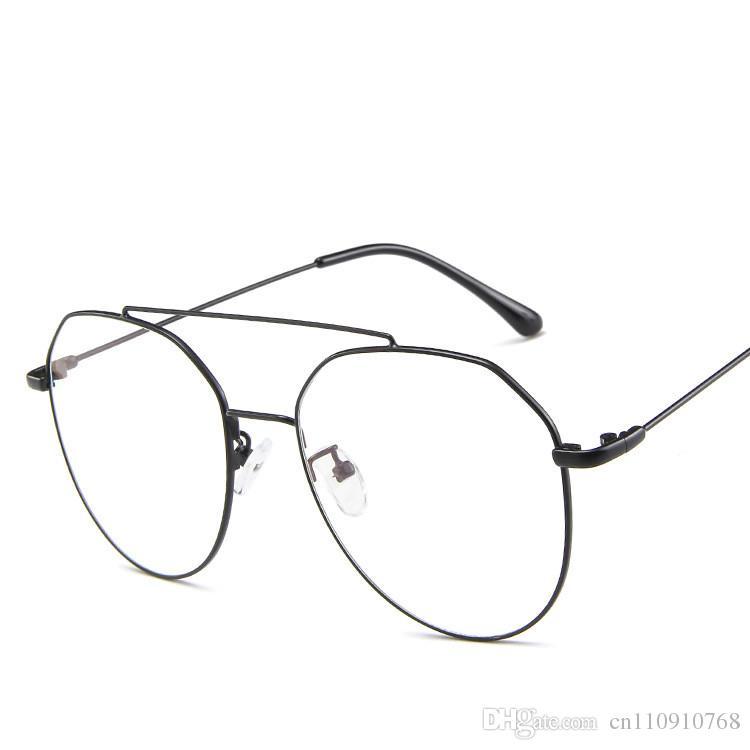 ce3563d375a 2019 2019 CE Eyeglasses Pilot Optics Glasses Classic Retro Style Large  Friam Oversized Big Size Frame CE FDA Quality AA93 From Cn110910768