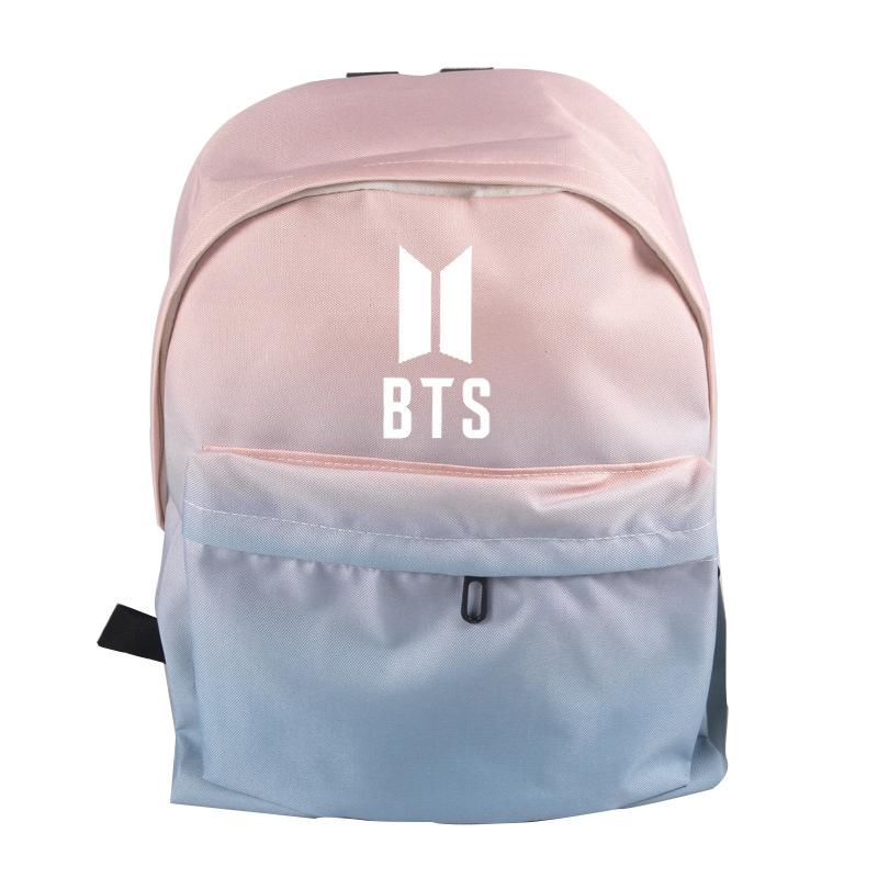 Herald Fashion BTS Bangtan Boys LOGO Backpack Canvas School Bag Shoulders  Bag For Teenagers Boys Girls Rucksack Daypacks Bags Rucksack From Arrownet