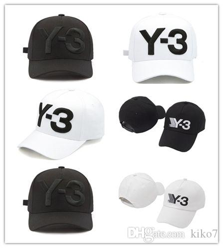 c8e436e2 Top Selling High Quality New Y 3 Dad Hat Big Bold Embroidered Logo Baseball  Cap Adjustable Strapback Hats Y3 Flexfit Hats For Men From Kiko7, $3.52|  DHgate.