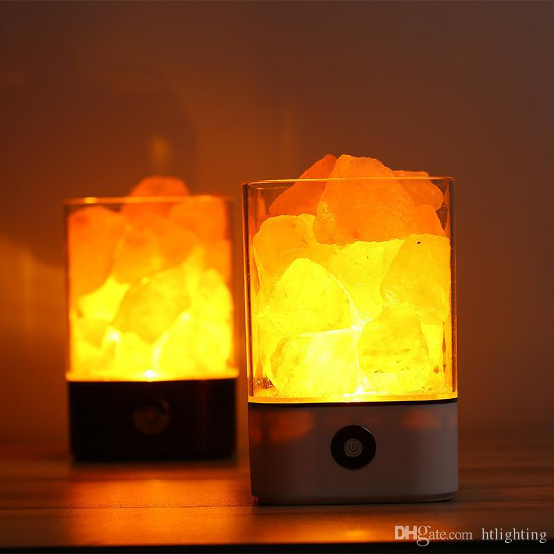 Furniture Special Magic Cube Shape Healthy Life Natural Crystal Salt Light Air Purifying Salt Lamp For Bedroom Sales Of Quality Assurance