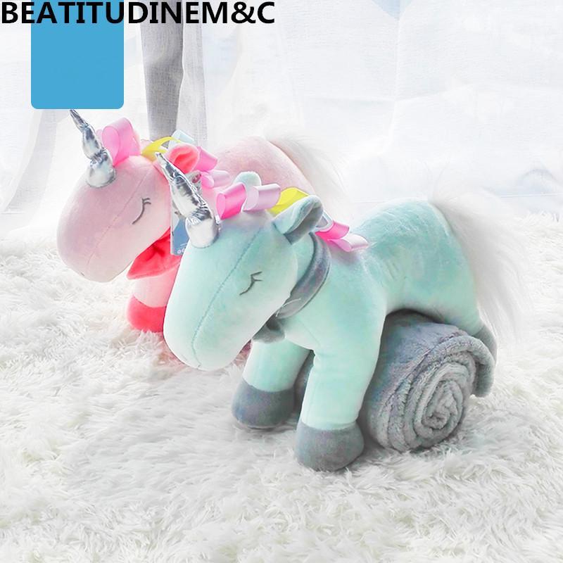 2019 Baby Plush Toy Pillow Blanket Children S Toy Flannel Blanket
