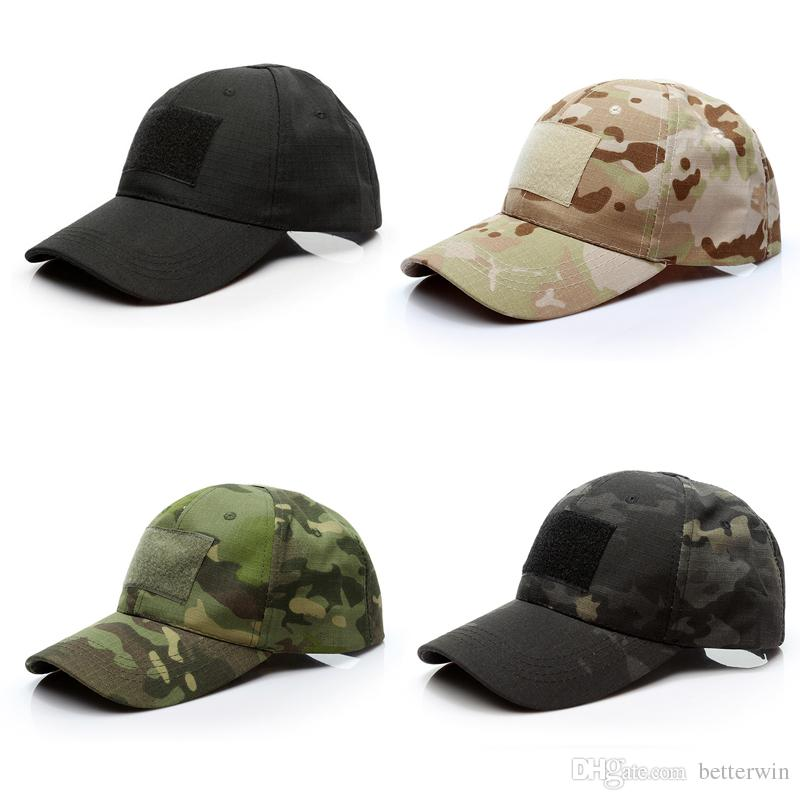 43bf8cc1b82 SINGYOU Outdoor Camouflage Baseball Cap Men Women Sport Hats Special Force  Tactical Operator Hat Superman Cap Hat Embroidery From Betterwin