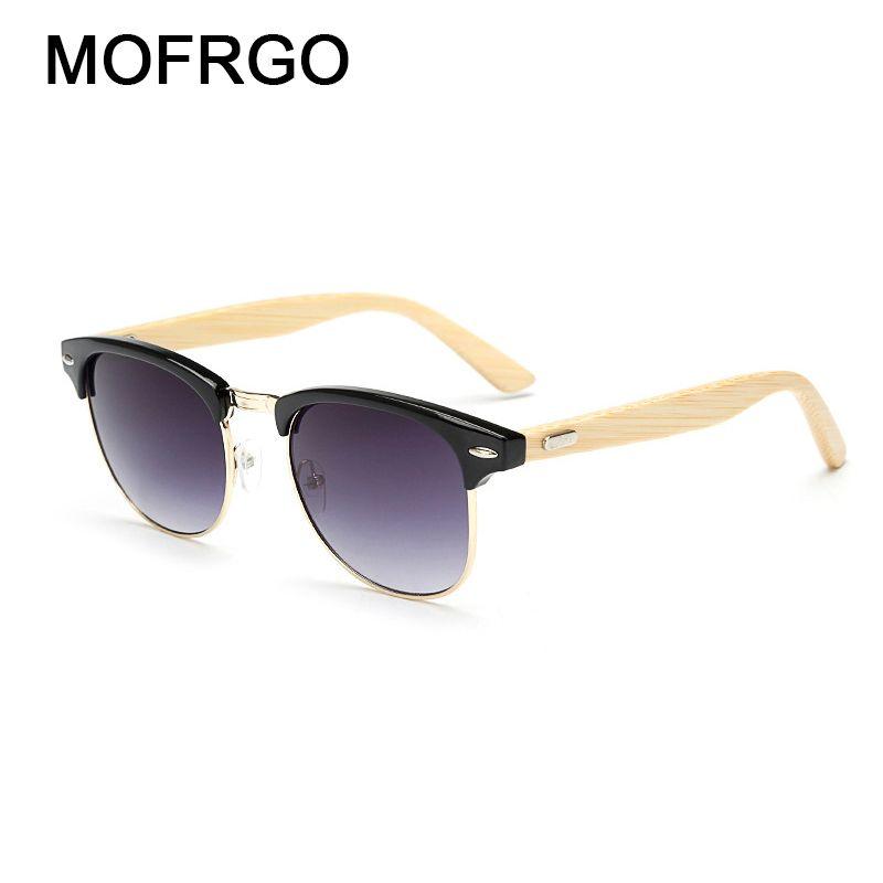 8ae7a65ebbc New Retro Men Sun Glasses Women Polarized Sunglasses Bamboo Handmade ...