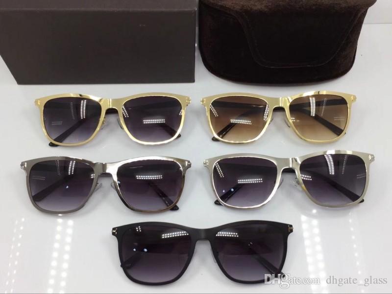 4bc0272bd1 Mens Designer Sunglasses Styles Glasses Frames For Men Tea And Gray Nylon  Lens Square Male Eye Glasses Full Frame UV Protection With Box Sports  Sunglasses ...