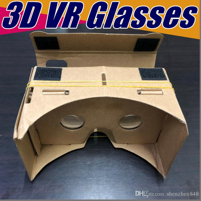 bf6d6addfc1 2019 DIY 3D Glasses Google Cardboard VR BOX II Virtual Reality For 3.5 6.0  Inch Smartphone NEW Iphone X 9 8 B XY From Shenzhen848