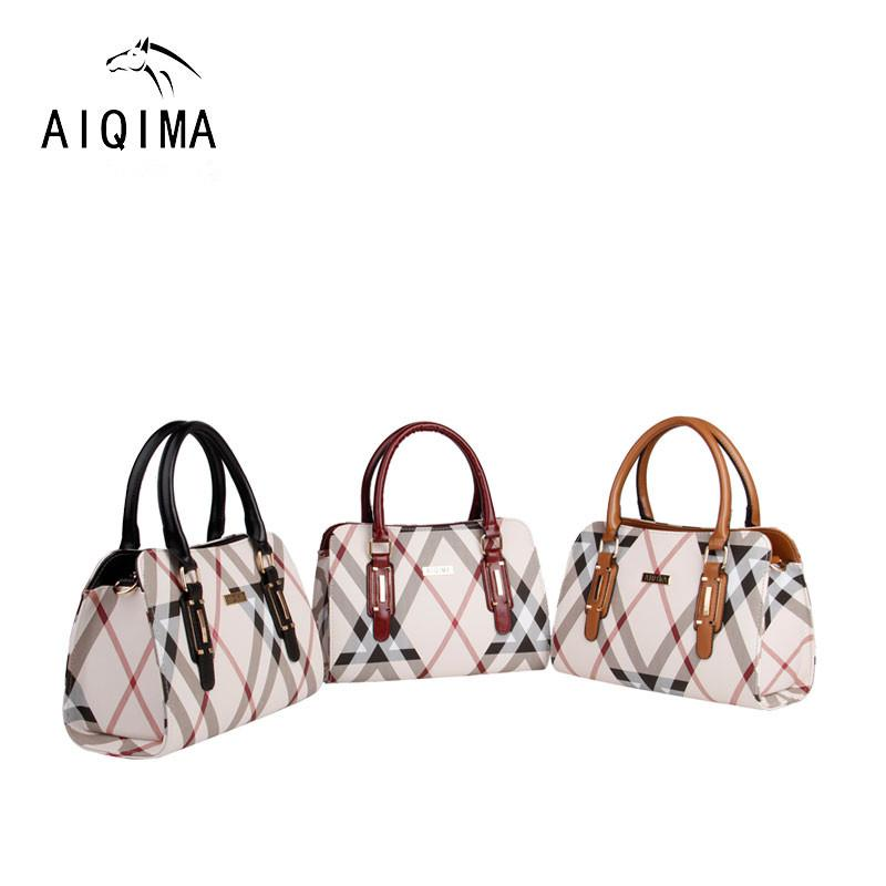 e5b4afd857fa Promotional 2018 New PVC Fashion Zipper Hit Color Ladies Boston Bag Large  Capacity Mother Travel Shopping Portable Messenger Bag Leather Satchel  Ladies Bags ...