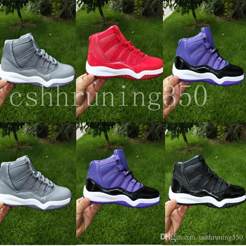 size 40 6ea29 35c4b ... retro para niños negro rojos blanco 113870dlq 662c0 2caae low price  compre nike air jordan 11 aj11 retroniños zapatos de baloncesto para niños  2018 para ...
