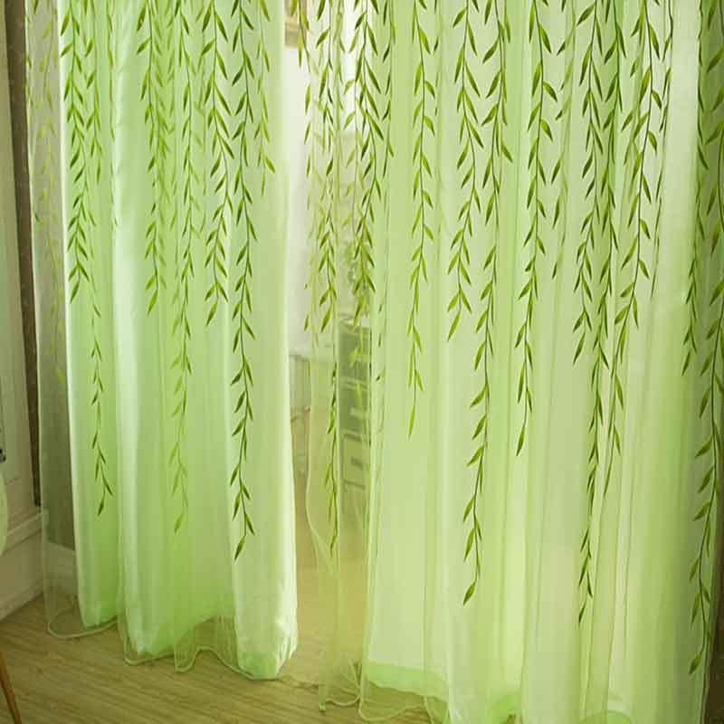 Curtains Home & Garden White Lace Curtains For Short Kitchen Blinds Voile Curtains Embroidery Cortinas Door Short Flower Tulle Curtains For Living Room Sales Of Quality Assurance