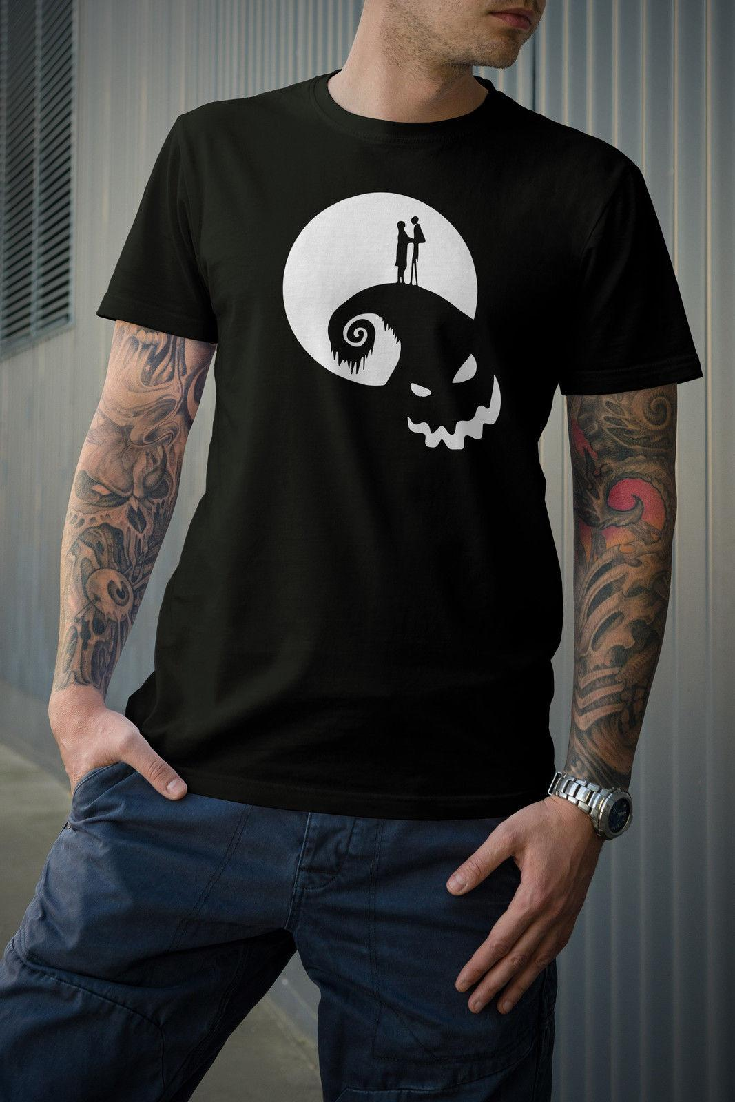 The Nightmare Before Christmas Tshirt Jack And Sally Shirts For Men ...
