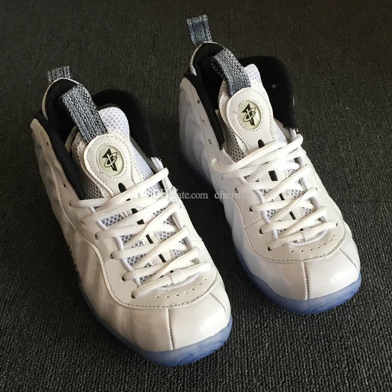 separation shoes f9831 d1a86 Großhandel 2018 Neue Penny Hardaway 1 Schäumt PRM Alle Weiße Eis Rosen  Goldsport Basketball Schuhe Für Mens Schaum Eine Turnschuhschuhe Größe 40  47 Von ...