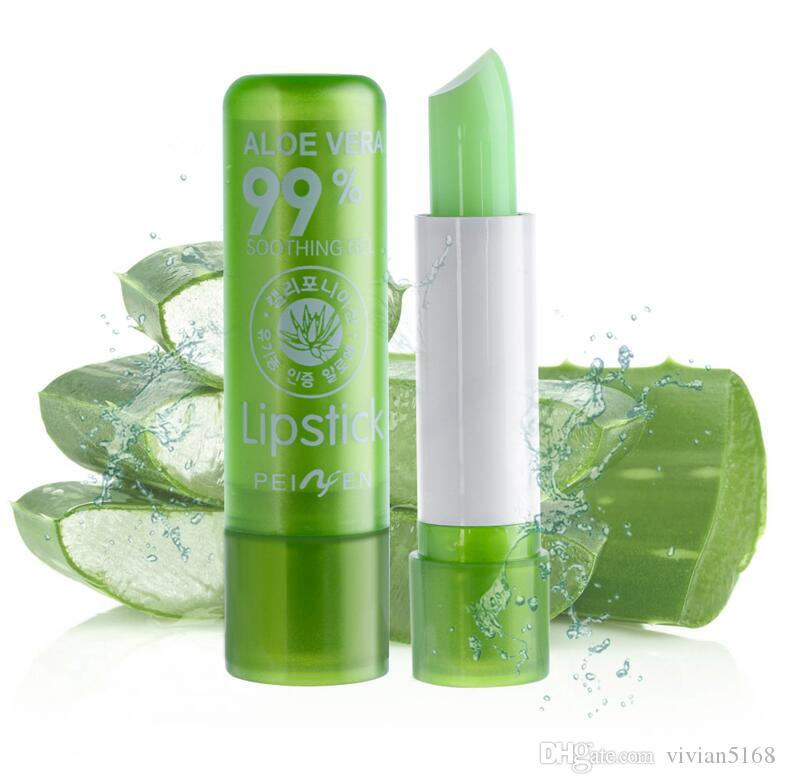 Magic Lip Balm Temperature Change Color Lipstick Moisturizing Waterproof Anti-aging Protection Fruit Aloe Vera Lipstick
