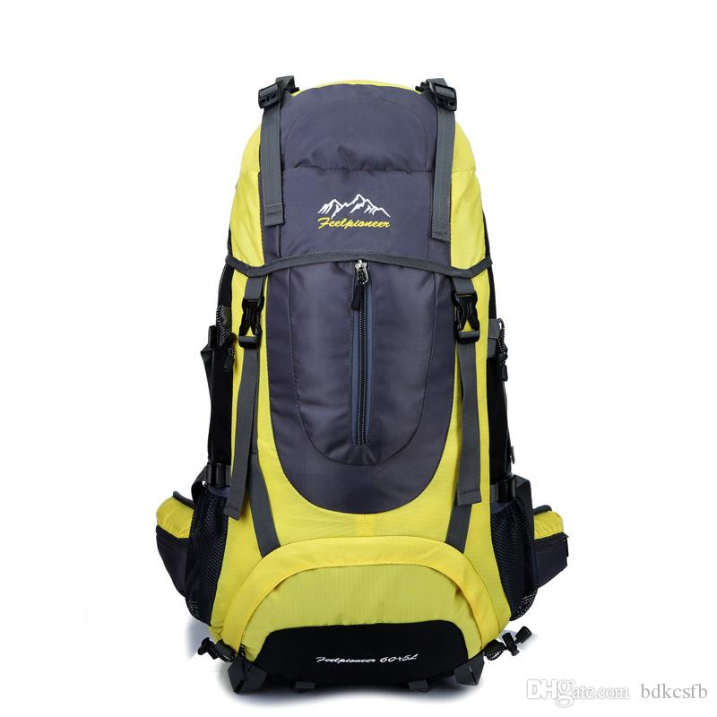 cbe6bfb8adf8 Manufacturers WholeSale Custom Mountaineering Bag Outdoor Sports Bag Hiking  Backpack Multi-purpose Single Travel Backpack(6 Color)