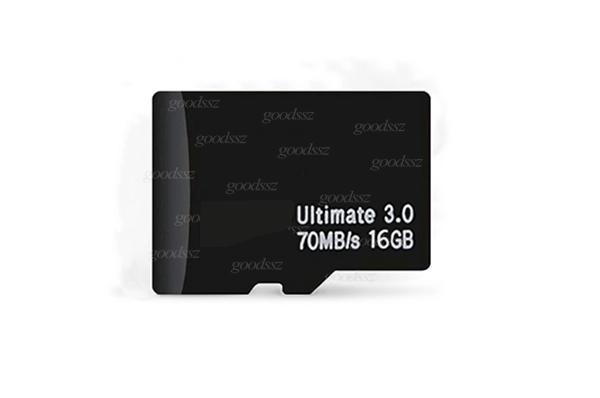 새로운 8GB 16GB 32GB 64GB 128GB 메모리 TF 카드 클래스 10 정품 실제 용량 궁극 3.0 70MB / s 고품질 패스 H2TEST