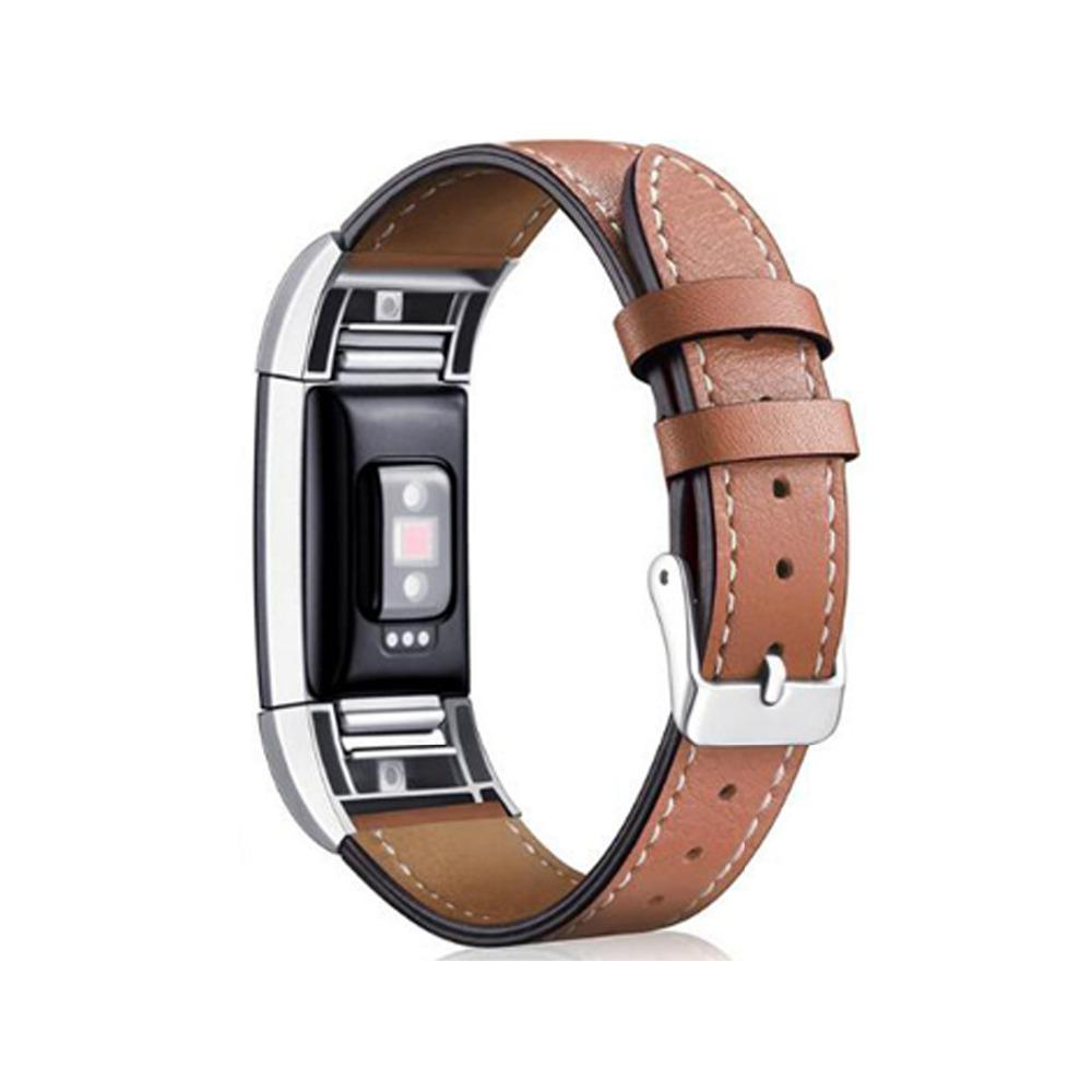 EIMO leather strap for fitbit charge 2 band leather Bracelet Replacement wristband Smart Watch Band for fitbit charge 2
