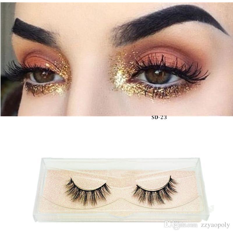 c3e482954ed 3D Silk Lashes Natural Long False Eyelashes Dramatic Volume Fake Lashes  Makeup Eyelash Extension Silk Eyelashes Secret Lashes Xxl Lashes From  Zzyaopoly, ...