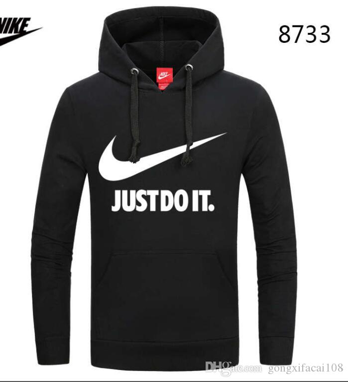 NEW Fashion sports couple sweater Brand NIKE quality nice with fleece winter west hoodie sweatshirt swag solid Olive pullover#6605
