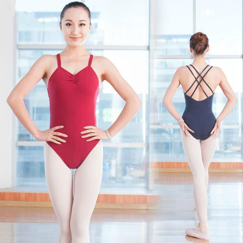 1a55ccb9ff68 2019 Adult Dance Practice Clothes Gymnastics Leotards Backless ...