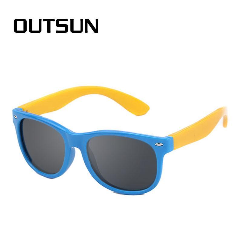 Just Kids Polarized Kids Sunglasses Uv400 Boy Girls Cool Casual Glasses Out Door Eyewear Women's Glasses