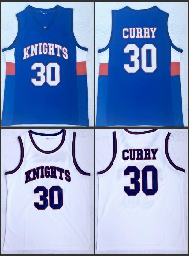 2019 Men 30 Stephen Curry Charlotte Knights High School Basketball