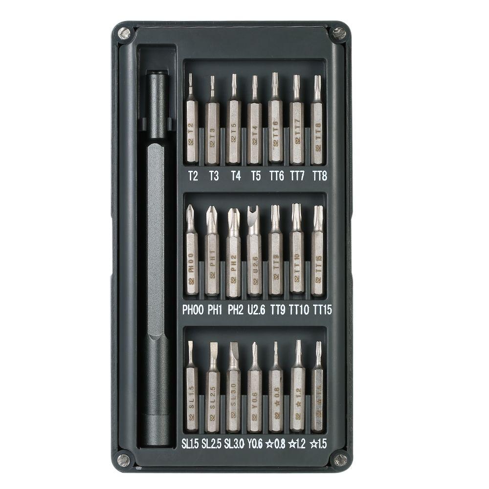22 in 1 Torx Screwdriver Set Repair Tools Kit for Mobile Phones Laptop Multi-functional Precision Tool Magnetic Screw Driver Set