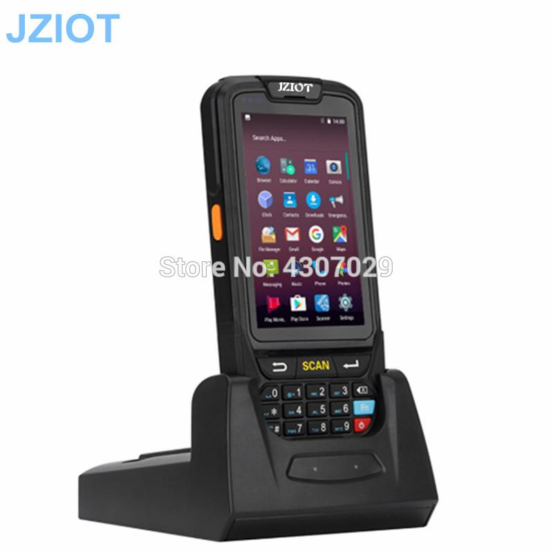 Bluetooth Rugged 4G WIFI GPS NFC Android PDA 1D 2D Barcode Scanner qr code reader handheld terminal data collector