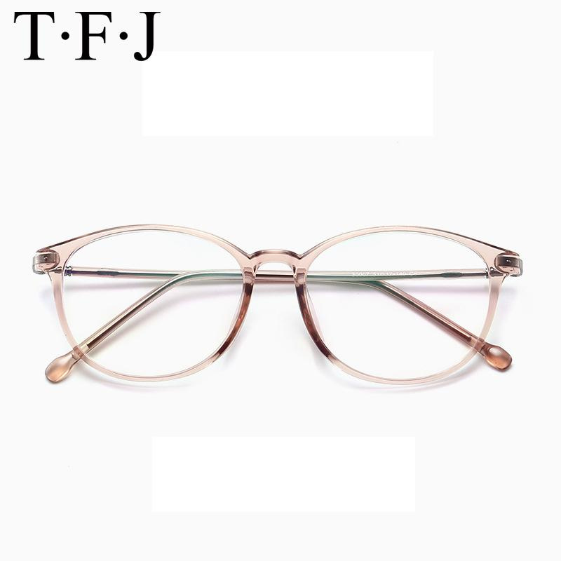 23dfa2eea39 Fashion Women Glasses Vintage Round Transparent Lens Ultralight Men ...