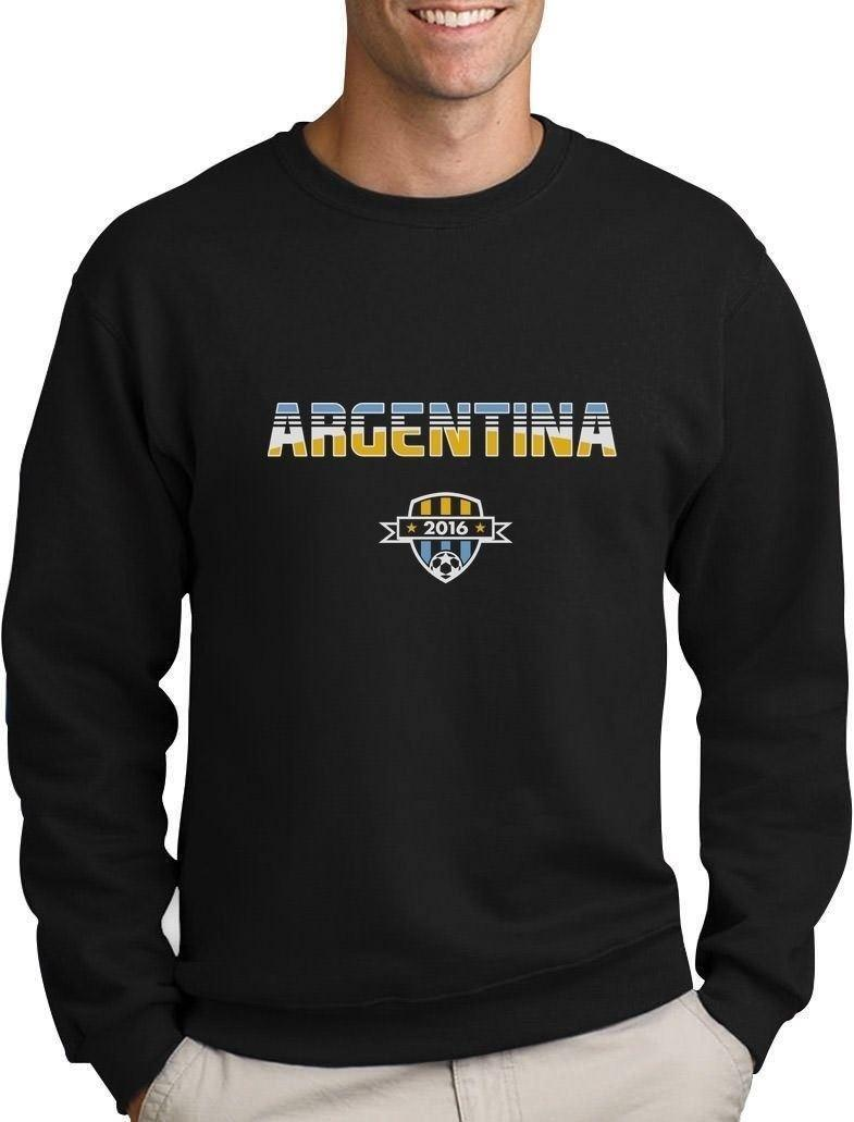 fe8c76550 Argentina Soccer Team 2016 Football Fans Sweatshirt Gift Idea Offensive  Shirts Ringer T Shirts From Banwanyue7
