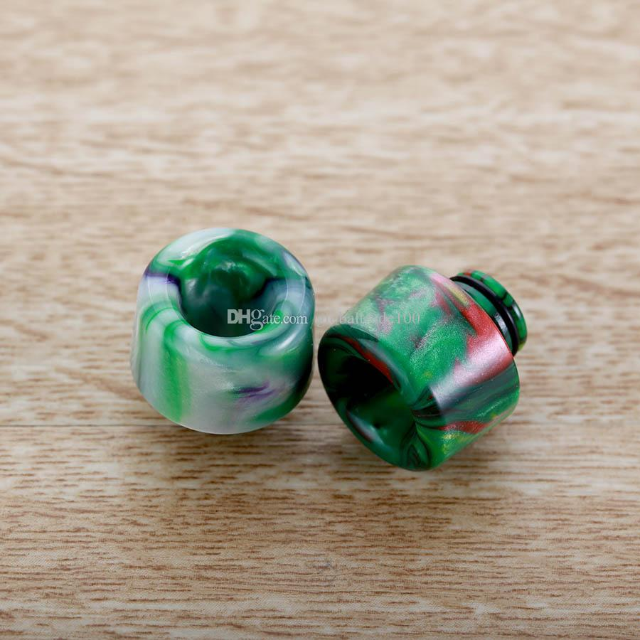 NUEVAS puntas de goteo de resina de resina epoxi 510 para 510 Tank RDA RTA boquilla de cigarrillo electrónico puntas de goteo