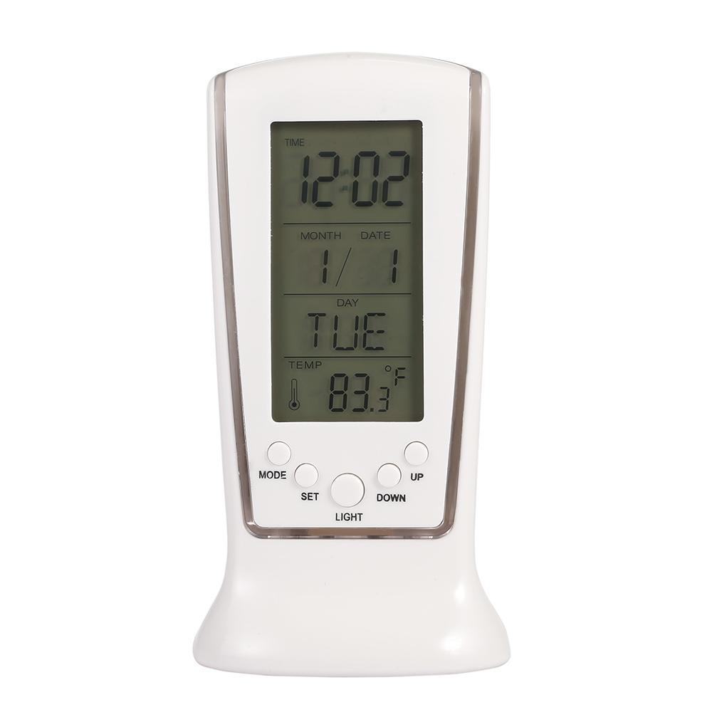 Timer Messung Und Analyse Instrumente 2019 Neuestes Design Clock Blauer Hintergrundbeleuchtung Digitale Alarm Tischuhr Uhr Snooze Led Uhr Zeigt Temperatur Uhrenkarte