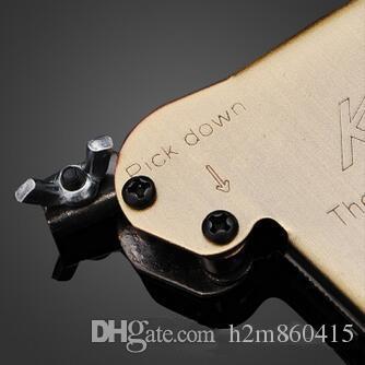 Vendita calda all'ingrosso LSL forte aquila lock pick gun KLOM genuino manuale pick lock gun fabbro strumento apriporta pick down