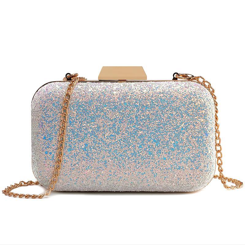 c2d67c0aef78 2019 Fashion Beaocly Golden Evening Clutch Bag Women Luxury Brand Bags  Wedding Shiny Handbags Bridal Metal Clutches Bag Chain Shoulder Bag Purses  Designer ...