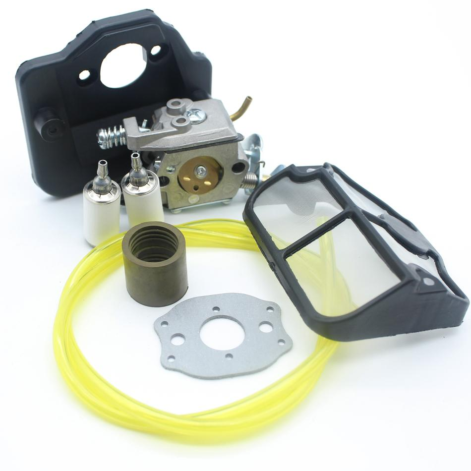 2018 Garden Power Tools Chainsaws Carburetor Air Filter Intake Manifold Fuel  Filter Line Kit For Husqvarna 136 141 137 142 36 41 Chainsaw From Toy1234,  ...