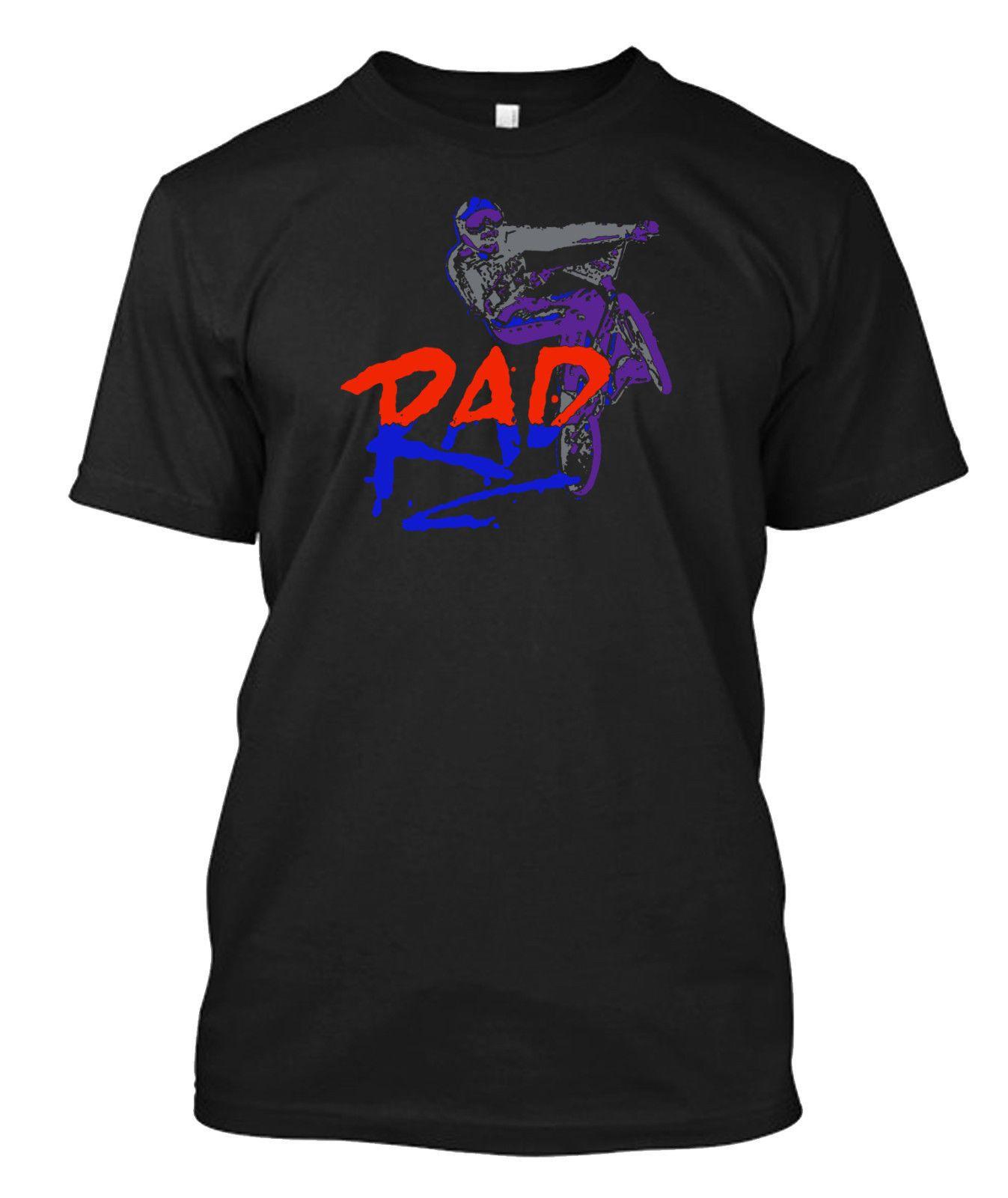 8f9341290 Compre Rad BMX Movie Retro Freestyle 80 s Camiseta Personalizada Camiseta A   10.44 Del Funnytee2u