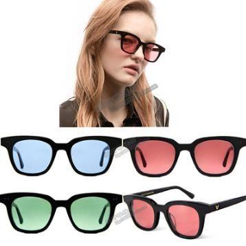 2f80170b8ff Square V South Sunglasses Women Men Retro Designer Plastic Frame Fashion  Sun Glasses Black Red Lens Shades UV400 CNY170 Prescription Sunglasses  Online Black ...