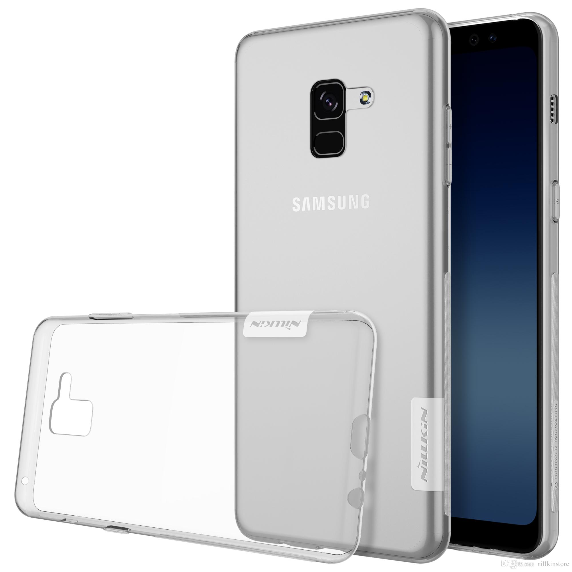 Case For Samsung Galaxy A8 2018 Nillkin Nature Transparent Clear Soft Silicon Tpu Protector Cover For Galaxy A8 2018 Case 5 6 Cases For Cell Phones Cell