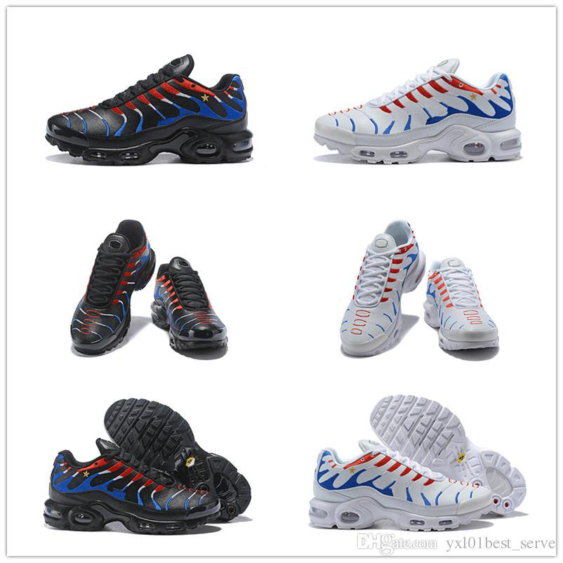 wholesale dealer 5641d 29ab7 Plus Tn French Flag World Cup Kylian Mbappé Running Shoes For Women Mens  Top Quality Exclusive Customized Style Designer Sneakers EUR 36 46 Cheap  Shoes Men ...