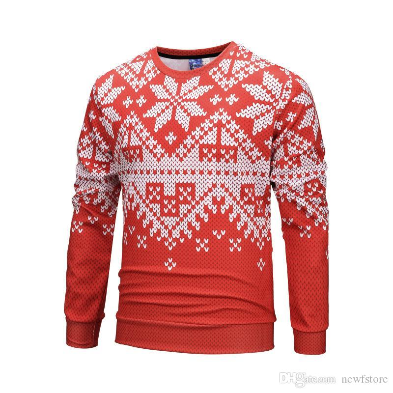 Ugly Christmas Sweater Design.Raisevern Unisex Funny Print Ugly Christmas Sweater Crewneck Various Design