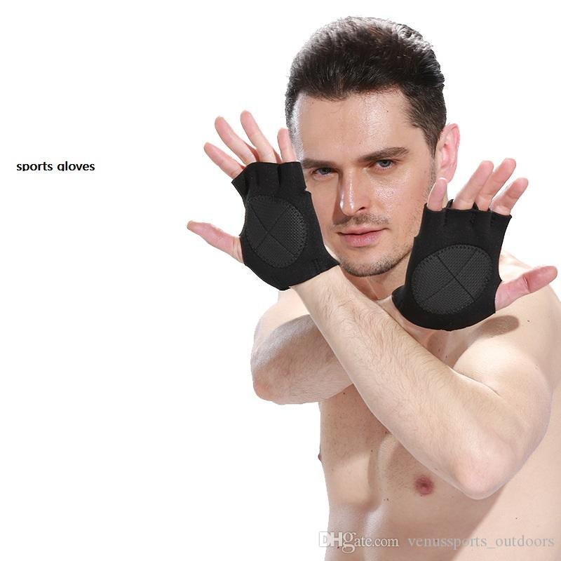 Multifunction Sports Gloves Gym Weight Lifting Fitness Exercise Training Gym Gloves Bodybuilding Equipment Sports Half finger Gloves