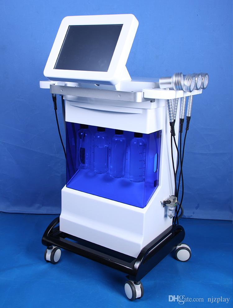 Factory price hydrafacial dermabrasion machine diamond microdermabrasion home use oxygen aqua jet peel BIO-lifting ultrasonic skin CE/DHL