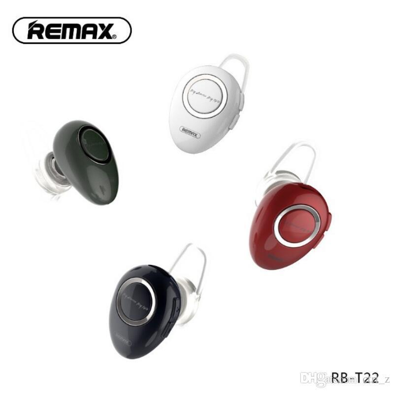 Наушники Для Телефонов Remax RB T22 Mini 4.1 Bluetooth Гарнитура Блок  Беспроводной Спорт Стерео Наушники С HD Микрофон Для Samsung Xiaomi Iphone  Переходники ... 58ea3ca797a3f