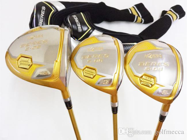 bf73997ffd6 4 Star Honma S-06 Wood Set Honma S-06 Woods Golf Clubs Driver + ...
