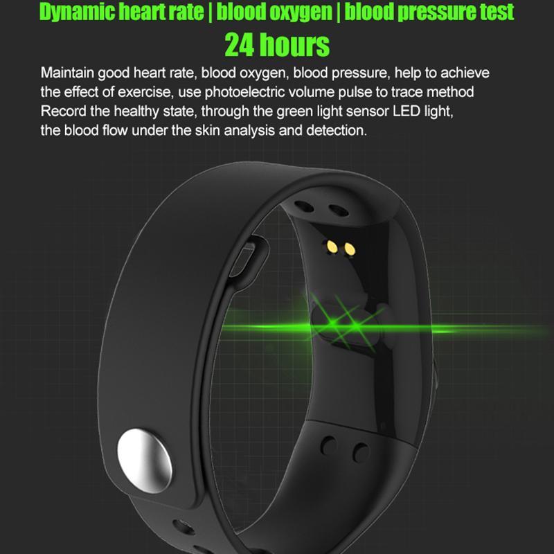 2019 Mode 2018 Herbst Winter Neue V66 Fitness Tracker Pedometer Sport Gym Schritt Zähler Herzfrequenz Monitor Gesundheit Schrittzähler Für Android Ios Schrittzähler Fitnessgeräte