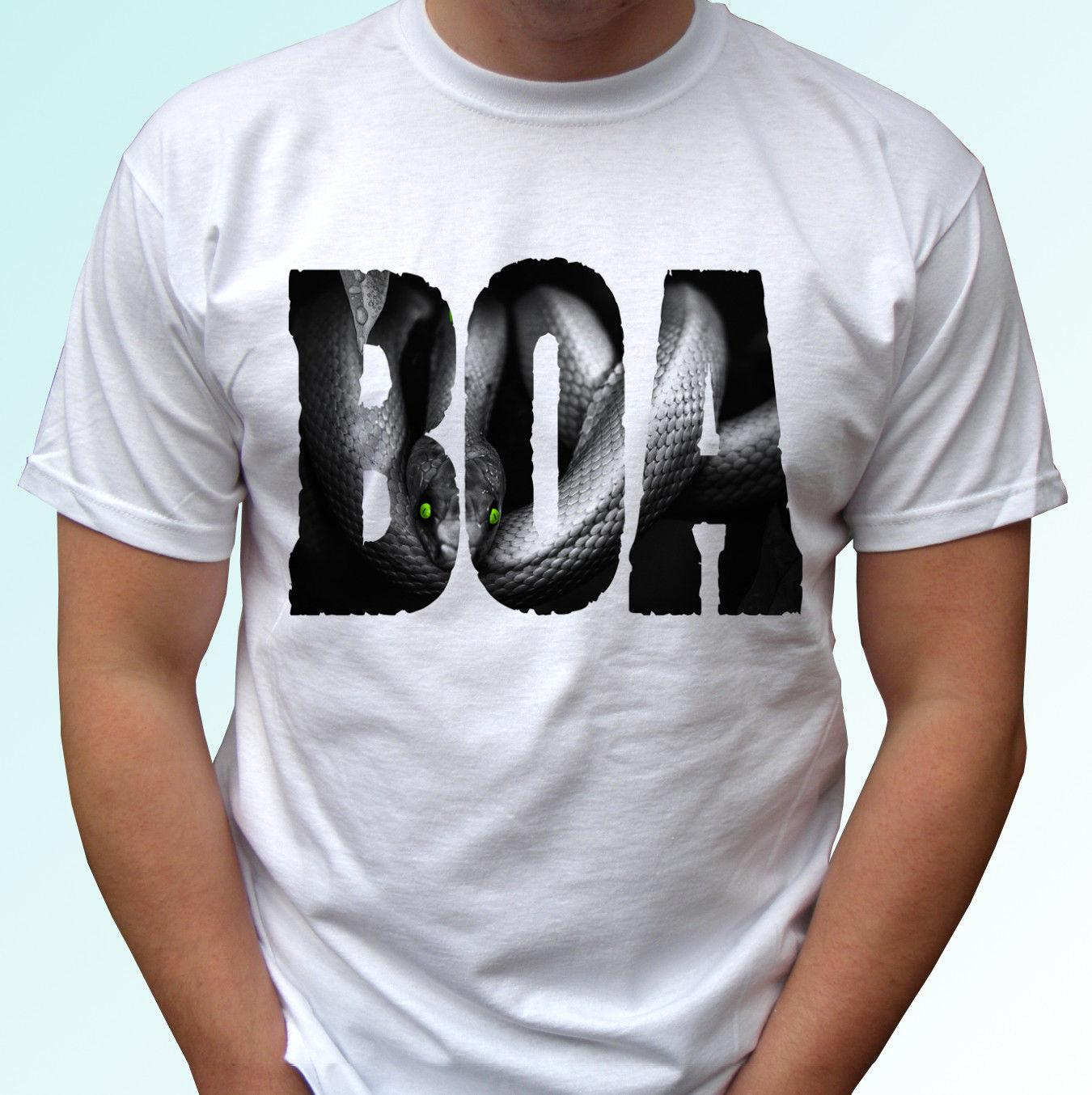 83ea9f19 BOA Black Snake T Shirt Top Reptile Tee Animal Design Mens Womens Kids  Sizes Silly T Shirts Interesting T Shirts From Xsy11tshirt, $12.05|  DHgate.Com