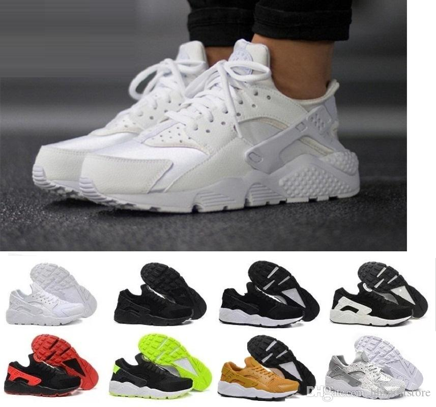 Acheter 2018 Nouveau Nike Air Huarache Ultra Casual Chaussures Pour Hommes  Femmes, Femme Hommes Blanc Noir Huaraches Huraches Sport Sneakers Athletic  ... e44f81ef5fa1