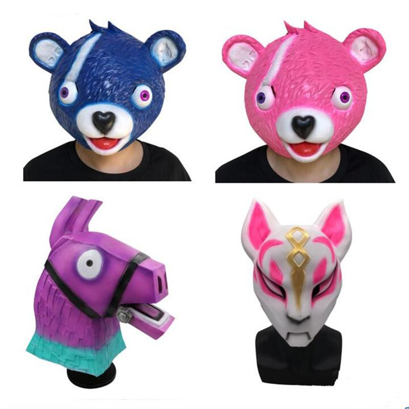 Grosshandel Spiel Fortnite Drift Maske Kinder Rosa Blau Grau Bar