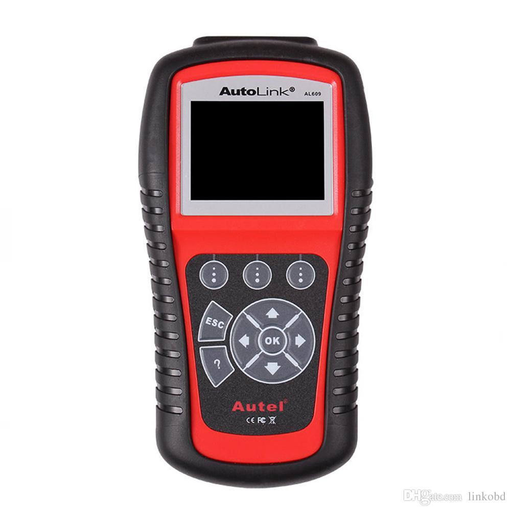 Autel AutoLink AL609 OBD2 OBDII / EOBD Auto Code Reader Diagnostic Scan  Tool Car ABS System Diagnostic Scanner
